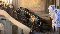 Portage piano de Concert FAZIOLI 550kg à l'étage